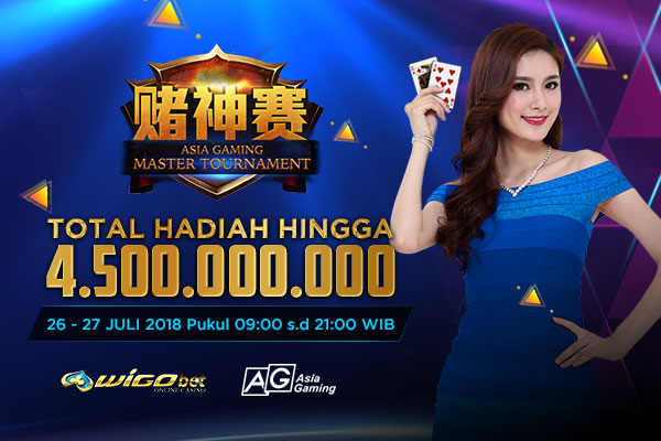 Master Tournament ASIA GAMING Total Hadiah 4,5 Miliar Di Wigobet