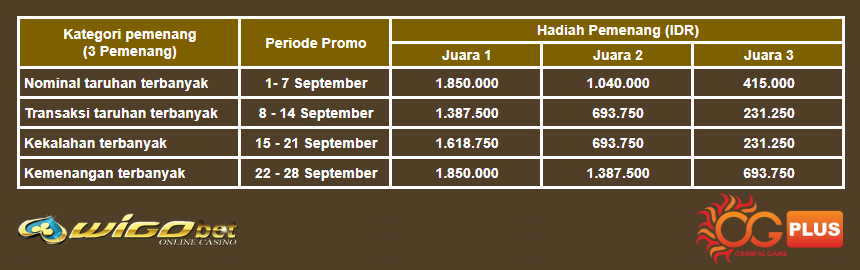 Promo Golden Autumn Oriental Game